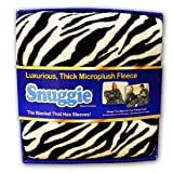 Snuggie Microplush Zebra