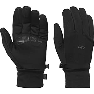 Outdoor Research Men's PL 400 Gloves, Black, Small