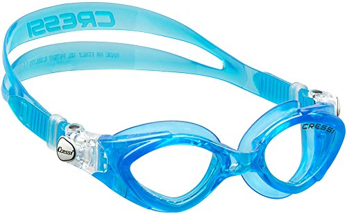 Cressi Kinder King Crab Goggles Schwimmbrillen 7 / 15 Jahre - Made in Italy