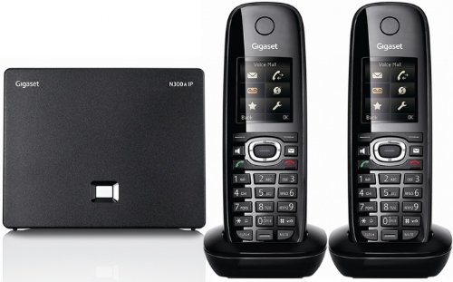 Gigaset C595IP ECO Twin Phone with Answermachine