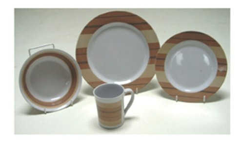 Quest Milano Melamine 16 Piece Picnic Set