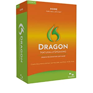 Dragon Naturally Speaking Software $34.99