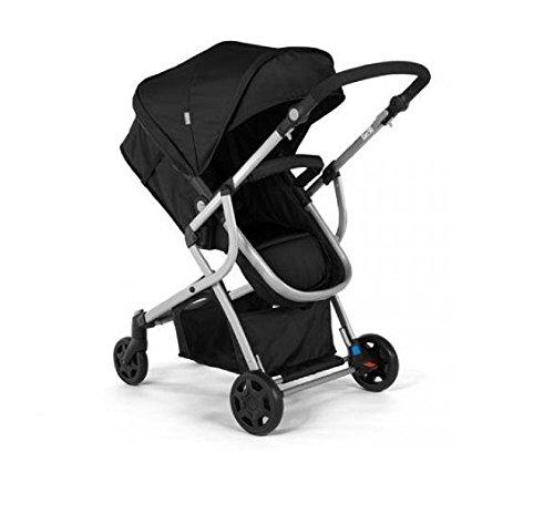 Urbini Omni Solo Versatile Convertible Stroller, Black - 1