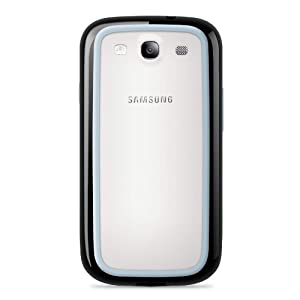 Belkin Surround Case / Cover for Samsung Galaxy S3 / S III (Blacktop / Ice) by Belkin