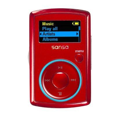 SanDisk Sansa Clip 2 GB MP3 Player (Red)