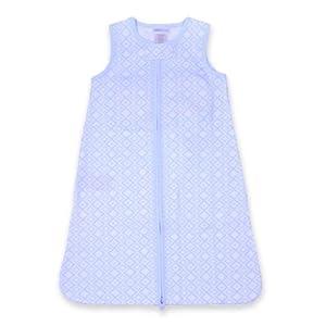Just Born SootheTime 100% Cotton Sleep Sack (Blue Diamond)