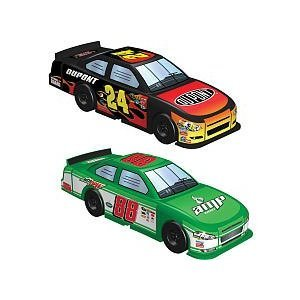 K'nex NASCAR Micro Building Set Jeff Gordan (DuPont) vs Dale Earnhardt Jr (Am... - 1