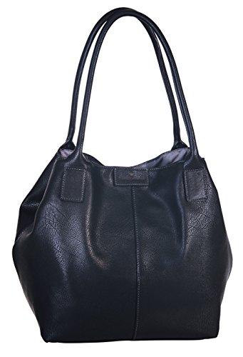 Tom Tailor Acc MIRIPU 10990 Borsa Shopper Donna 44x28x18 cm (B x H x T), Nero (Schwarz (schwarz 60))