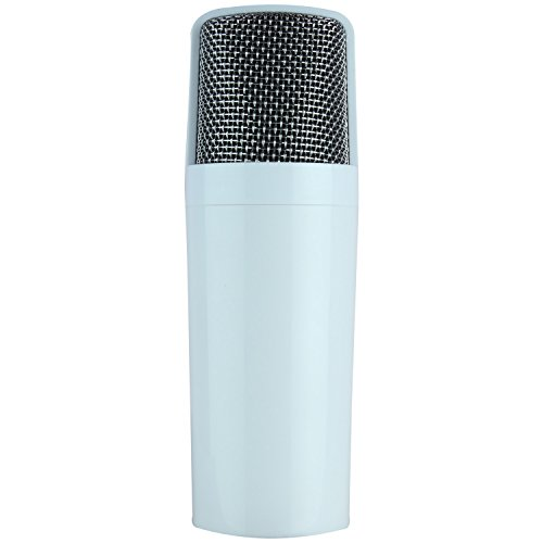 Sourcewell Kubite T-15 Digital Mobile Karaoke Microphone with Built in Mixer - White
