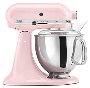 KitchenAid KSM150PSPK Artisan Series 5-Qt. Stand Mixer with Pouring Shield - Pink