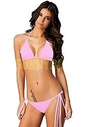 Sunnydate Popular Women Sexy Push up Padded Swimsuit Bikini Trikini Beachwear Tankini