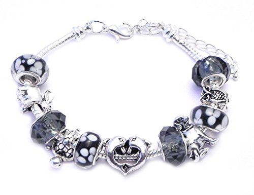 Animal Charm Bracelet  Dog, Turtle, Owl, Elephant
