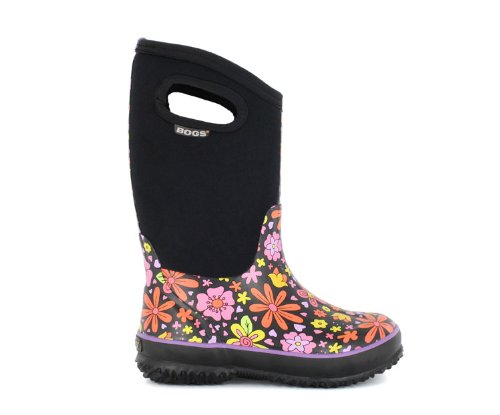 Bogs Crazy Daisy Girls Muck Boots - (Size UK Childrens 9.5 - Youth 1.5)