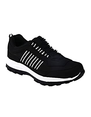 Corpus Density Black Color Running Shoes