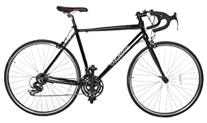 Vilano Aluminum Road Bike 21 Speed Shimano, Black, 54cm Medium