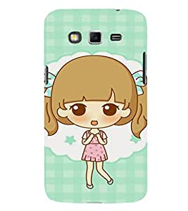 EPICCASE Excited Little Girl Mobile Back Case Cover For Samsung Galaxy Grand Max (Designer Case)