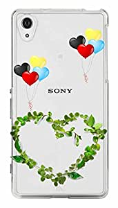 WOW Transparent Printed Back Cover Case For Sony Xperia Z1