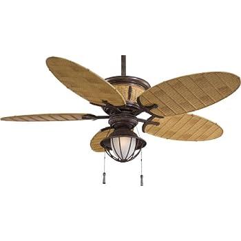 "Minka-Aire F580-VR/BB, Shangri-La, 52"" Ceiling Fan, Vintage Rust"
