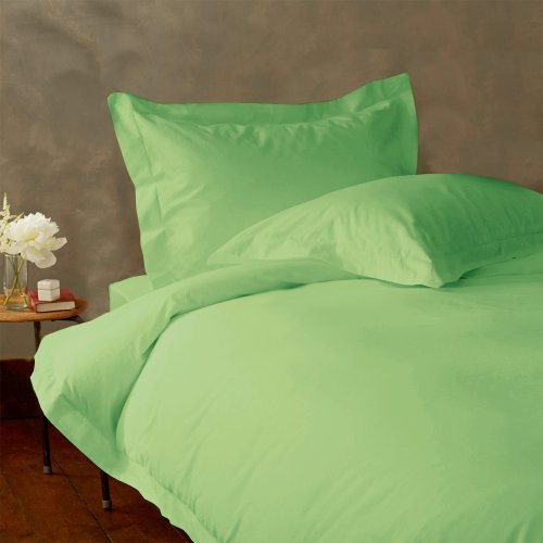 LACASA BEDDING 500 TC Egyptian cotton Fitted sheet 18 Extra Deep Pocket Italian Finish Solid ( Short Queen ( RV-Bunk ) , Sage ) double fitted sheet 160х200 u s polo assn double fitted sheet 160х200