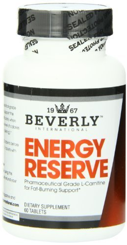 Beverly International Energy Reserve, 60 Tablets by Beverly International (Beverly Energy Reserve compare prices)
