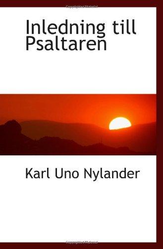 Inledning till Psaltaren