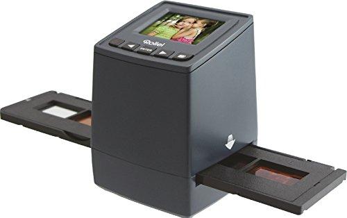 """Rollei DF-S 300 HD - Scanner per Diapositive e Negativi - 14 Megapixel - con Monitor a colori 2,4"""" - Nero"""