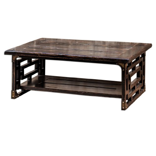 Uttermost 25600 Deron Wooden Coffee Table