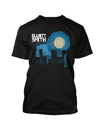 Elliott Smith - New Moon T-Shirt, X-Large, Black