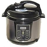 Parijat M50B15G 5-Litre Electric Pressure Cooker Black