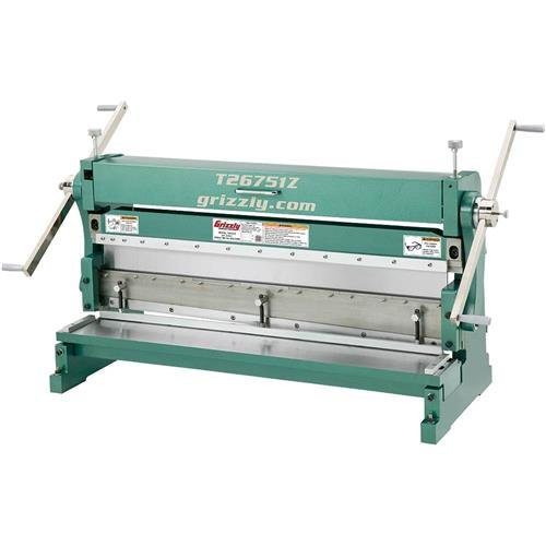 Grizzly T26751Z  3-in-1 Sheet Metal Machine, 42
