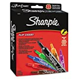 6 Pack Flip Chart Markers, Bullet Tip, Eight Colors, 8/Set by SANFORD INK (Catalog Category: Paper, Pens & Desk... by Crayola