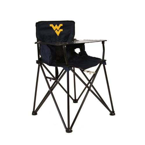 WEST VIRGINIA MOUNTAINEERS NCAA ULTIMATE TRAVEL CHILD HIGH CHAIR