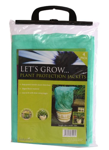 Nortene Botanico Plant Protection Jacket 0.80 x 0.60 metre (Pack of 4)