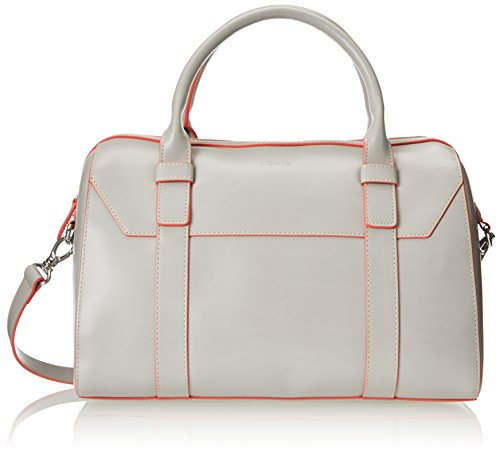 Lodis Audrey Camille Satchel, Grey/Coral, One Size