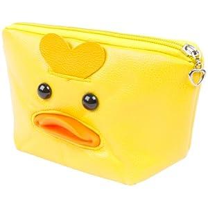 Animal World - Duck Cosmetic Bag - Yellow