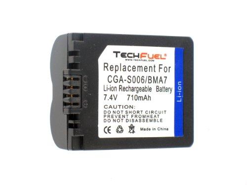 Panasonic Lumix DMC-FZ35 Digital Camera Battery - Premium TechFuel® CGA-S006 / DMW-BMA7 Battery