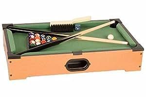 "21"" Mini Pool Tabletop Game Set"