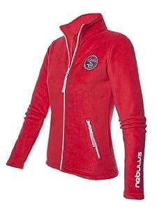 Nebulus - Veste en polaire Norways II - vêtement d'extérieur (W001) - Femmes - Rouge - 42