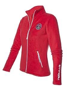 Nebulus - Veste en polaire Norways II - vêtement d'extérieur (W001) - Femmes - Rouge - 46