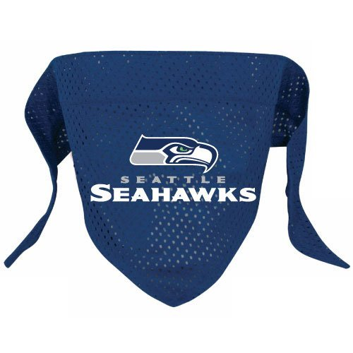 Seattle Seahawks Pet Dog Football Jersey Bandana S/M at Amazon.com