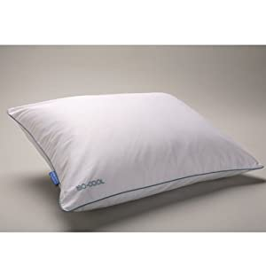 Isotonic Traditional Comfort Pillow : Amazon.com: Isotonic Iso-Cool Traditional Polyester Pillow with Outlast Cover, Queen: Home & Kitchen