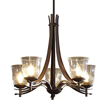 Allen Roth 5 Light Olde Bronze Chandelier