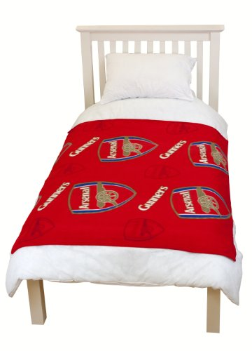 Character World Arsenal Crest Rotary Fleece Blanket