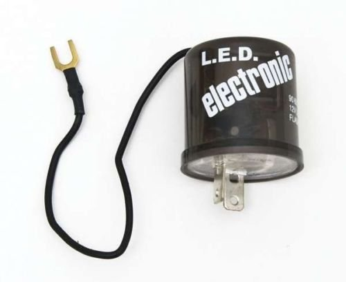 Octane Lighting 2 Pin Prong Terminal Relay Electronic Flasher 12 Volt Led Turn Signal Light
