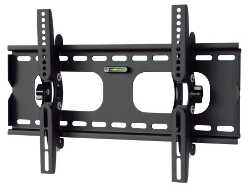 Universal PLB117S 22″-37″ LCD TV Wall Mount Bracket Black Tilt VESA 200, 300, 400mm