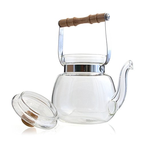 Yama Glass Chinese Water Kettle (40 oz) (Yama Kettle compare prices)