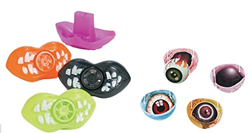 Zombie Lip Whistle and Eye Patch Set (48 Pieces) Party Favors/Supplies (Dead Whistle compare prices)