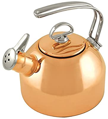 Chantal Tea Kettle Classic In Copper-1.8 Quart - SL37-19CP