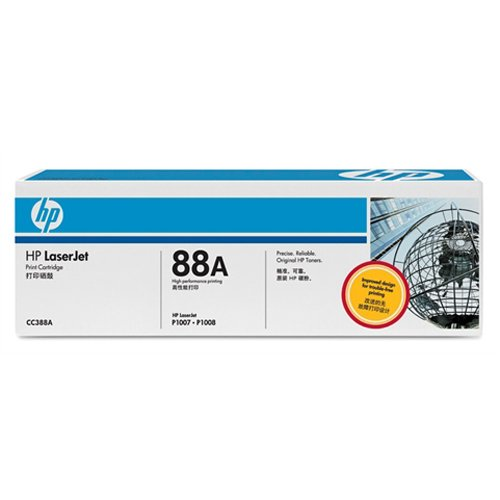 HP 惠普 ?LaserJet CC388A 黑色硒鼓(适用 LaserJet P1007 P1008)