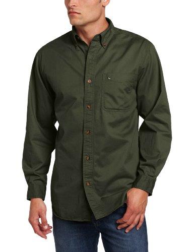 Carhartt men s big tall hines solid long sleeve shirt for Carhartt men s chamois long sleeve shirt